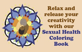 sexual health coloring book