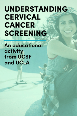 An educational activity on cervical cancer